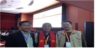 학술대회의 통역을 맡은 몽골의 신진학자들