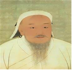 칭기즈칸 초상화 (타이완 국립박물관 소장)