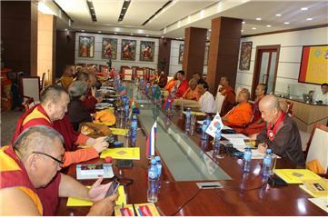 11차 아시아불교평화회의 11차 본회의가 개최되고 있다.