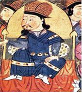 북원의 다얀 칸의 손자이며 튀메드부의 군주인 알탄 칸.