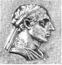 메난드로스 1세의 초상화