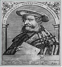클라우디오스 프톨레마이오스(AD 83년경~168년경)는 고대 그리스의 수학자, 천문학자, 지리학자, 점성학자이다.