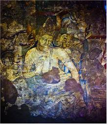 인도 아잔타 석굴에 그려진 아바로키테스바라