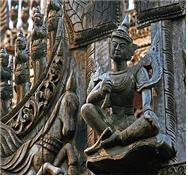 동으로 만든 아바로키테스바라, 스리랑카 750 CE.