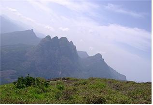 인도 타밀나두 주 포티 가이 산, 성관세음 주처(住處).