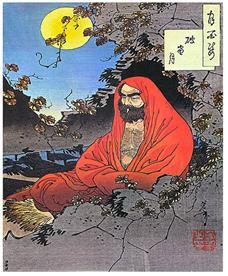 중국에 선불교를 전해준 보리달마 대사